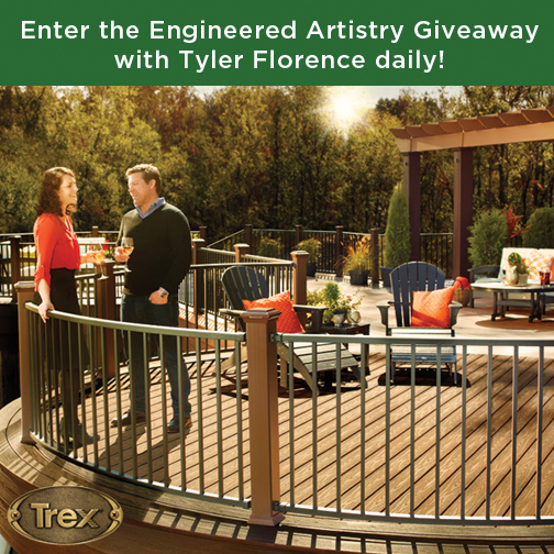 Tyler Florence and Lisa Switkin talk about Trex decking